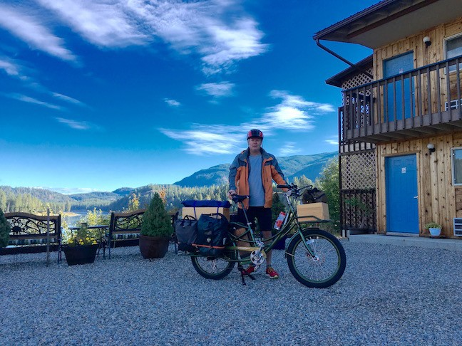 Photo taken in Ione, Washington during day two of pedego electric bike roadtrip