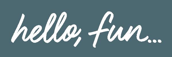 hello, fun... logo