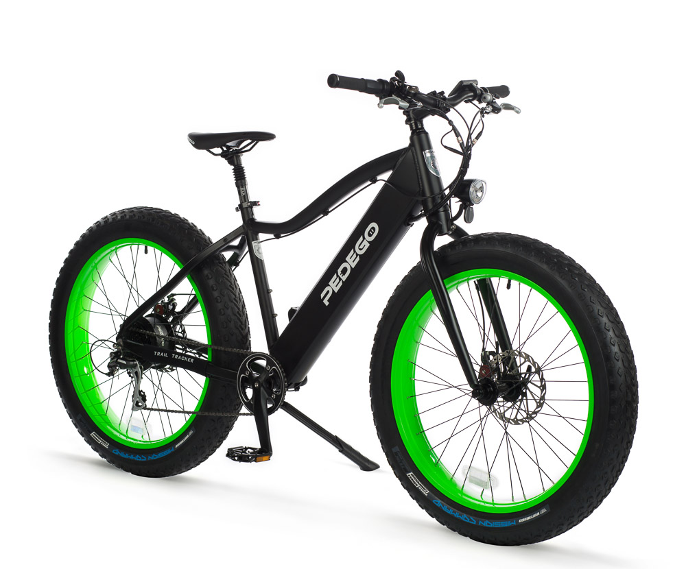 Pedego Canada Electric Fat Tire Bike - Trail Tracker
