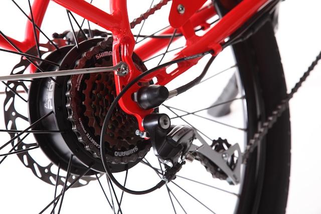 pedego canada electric bike engine