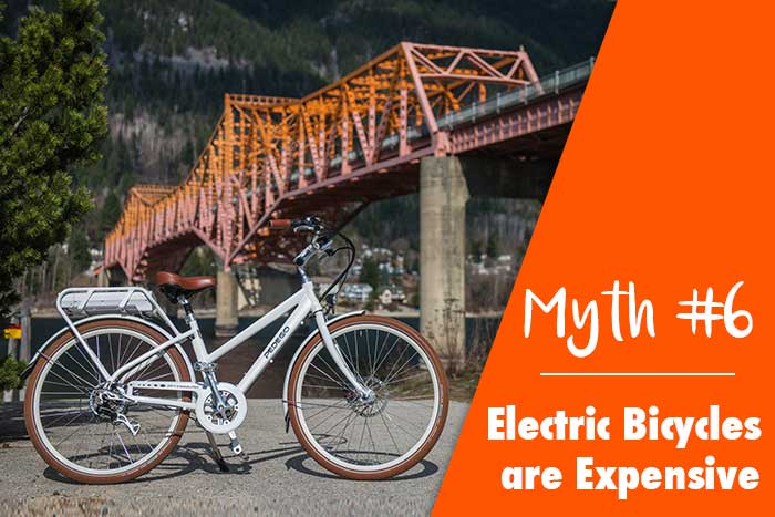 Myth: Electric Bicycles are Expensive