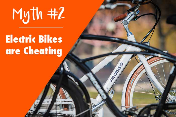 Electric Bikes are Cheating