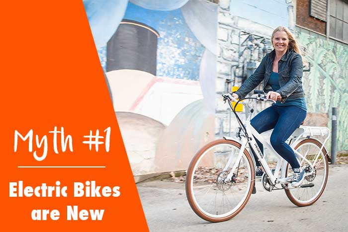Myth: Electric Bikes are New