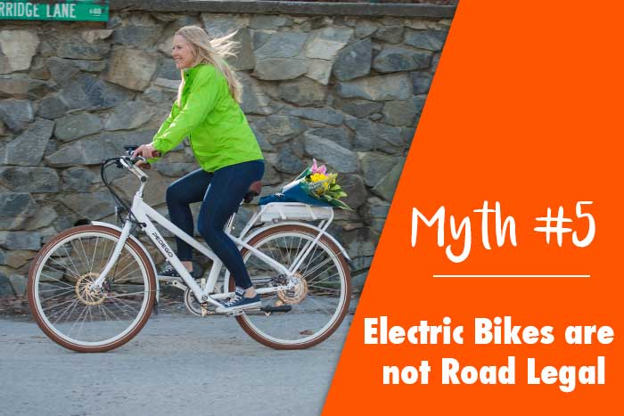Myth: Electric Bikes are not Road Legal
