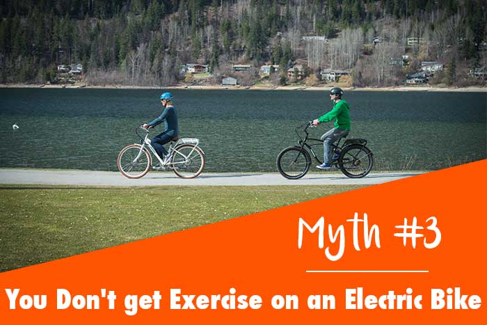 Myth:You Don't get any Exercise on an Electric Bike