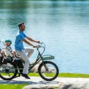 stretch electric cargo bike pedego canada
