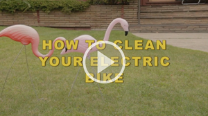 How to clean your electric bike