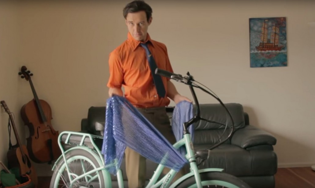 how to clean pedego electric bike with a cloth