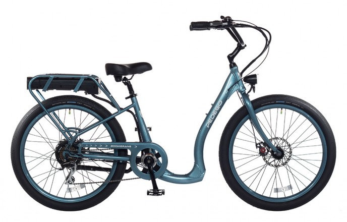 Pedego Boomerang Plus in Mineral Blue