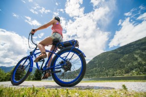 Lose weight on an electric bike
