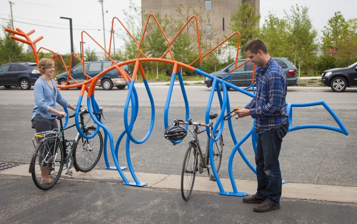 35 funniest bike racks in north america pedego electric bikes canada