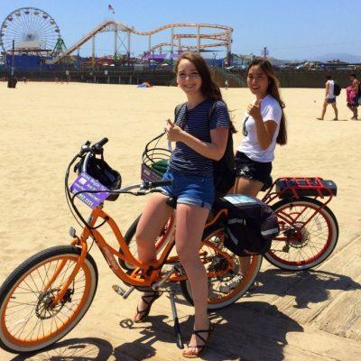 Pedego Qualicum Beach meets Pedego Santa Monica