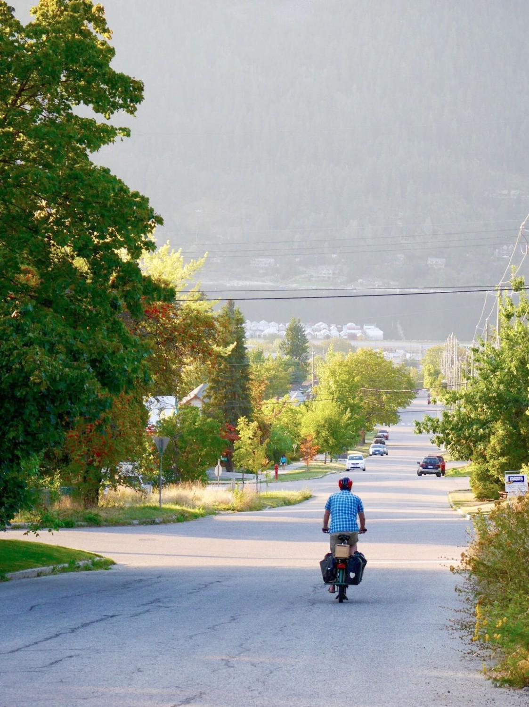 Jon Langille leaving Nelson BC