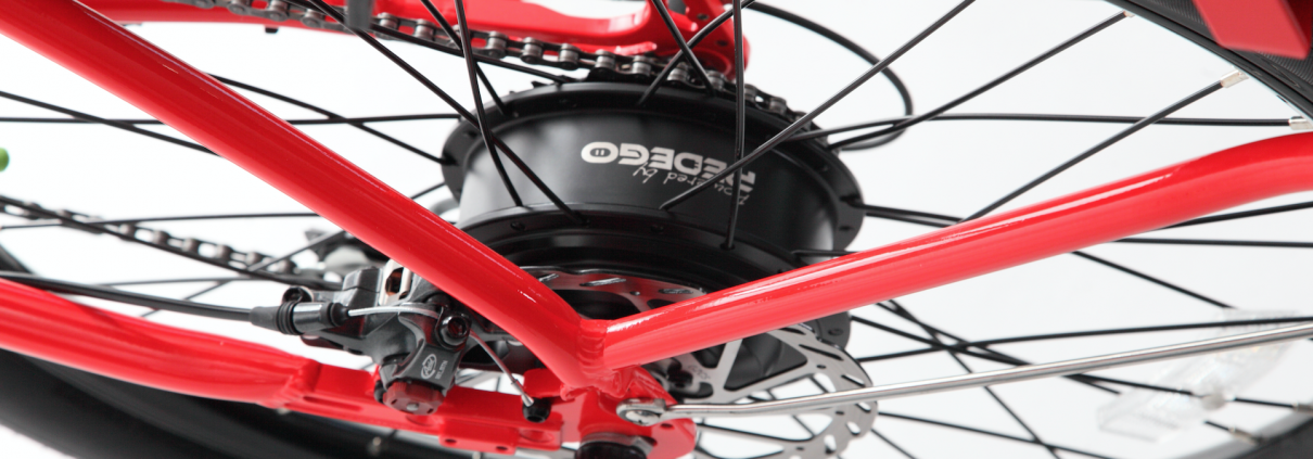 Pedego Electric Bike Hub Motor