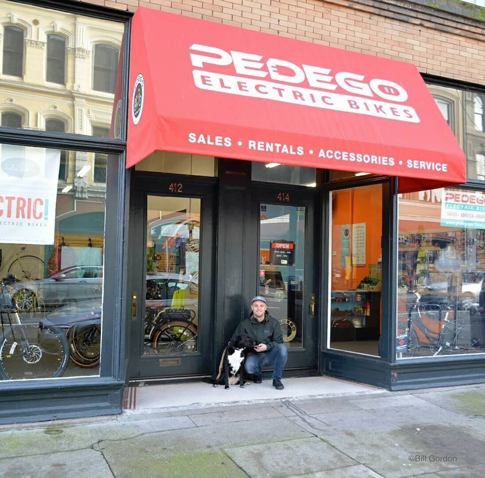 Tommy Connell of Pedego Portland was a key influence in Bill Fordon believing in the company's excellent business model.