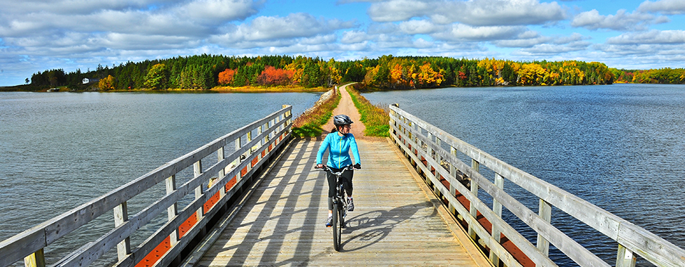 bicycle on the great trail Canada trans-Canada trail