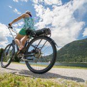Riding a Pedego Electric Bike
