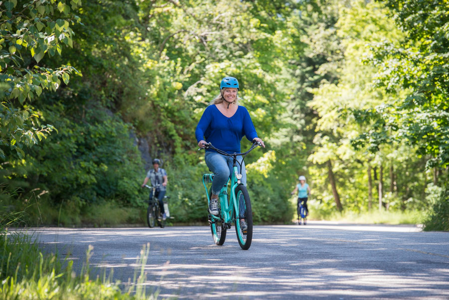 Weight loss benefits to riding an electric bike