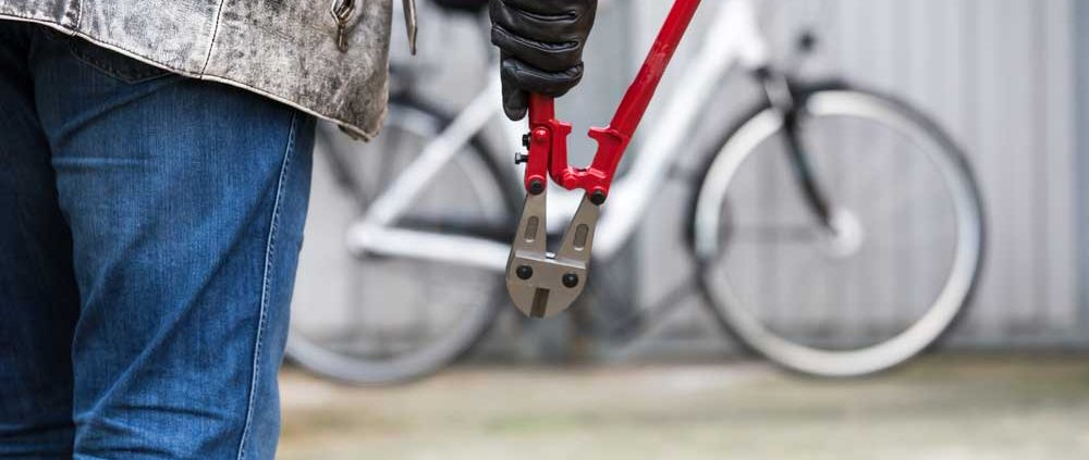Lock up your electric bike