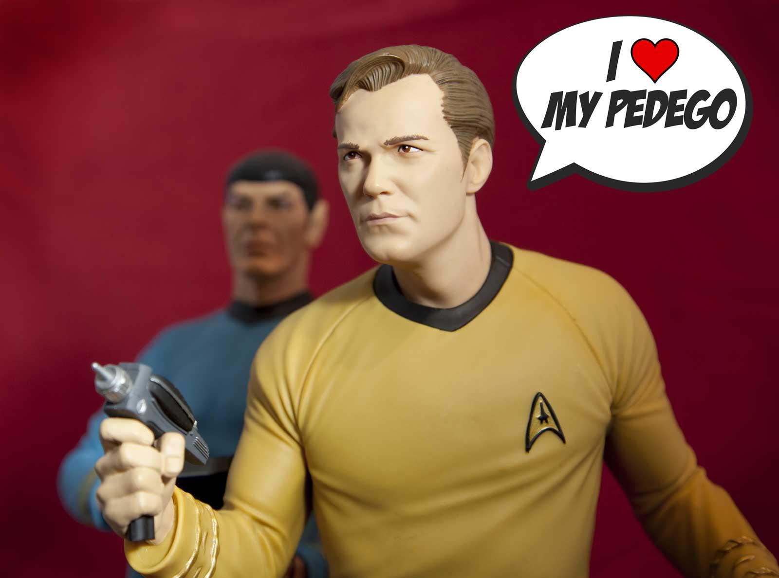 Captain Kirk loves Pedego Canada