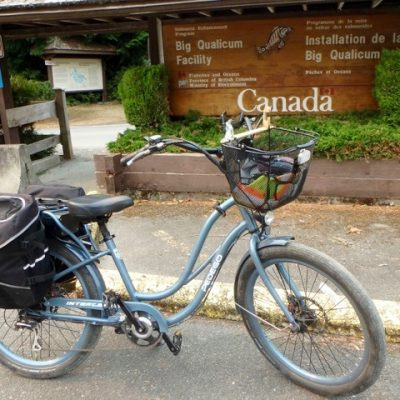 Travel the Big Qualicum River Trails with your Pedego
