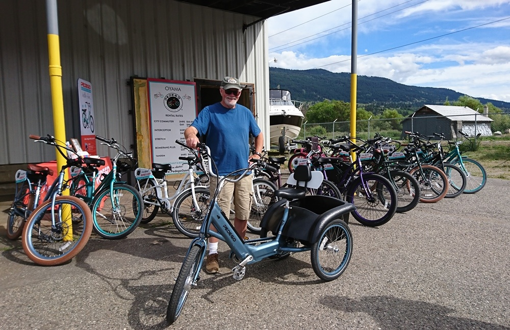 Pedego Electric Bikes Oyama