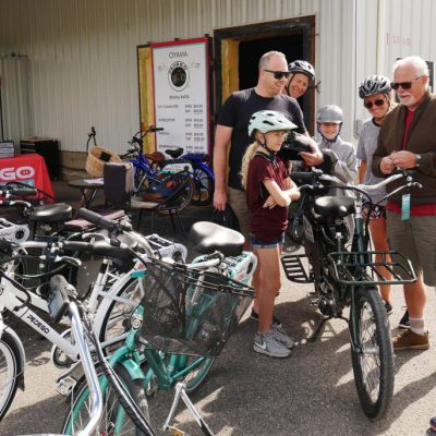 Pedego Oyama Helps Open The Okanagan Rail Trail