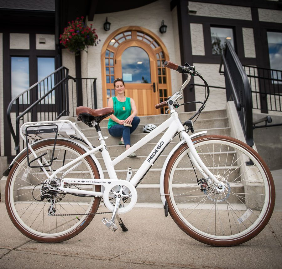 Pedego Canada City Commuter white
