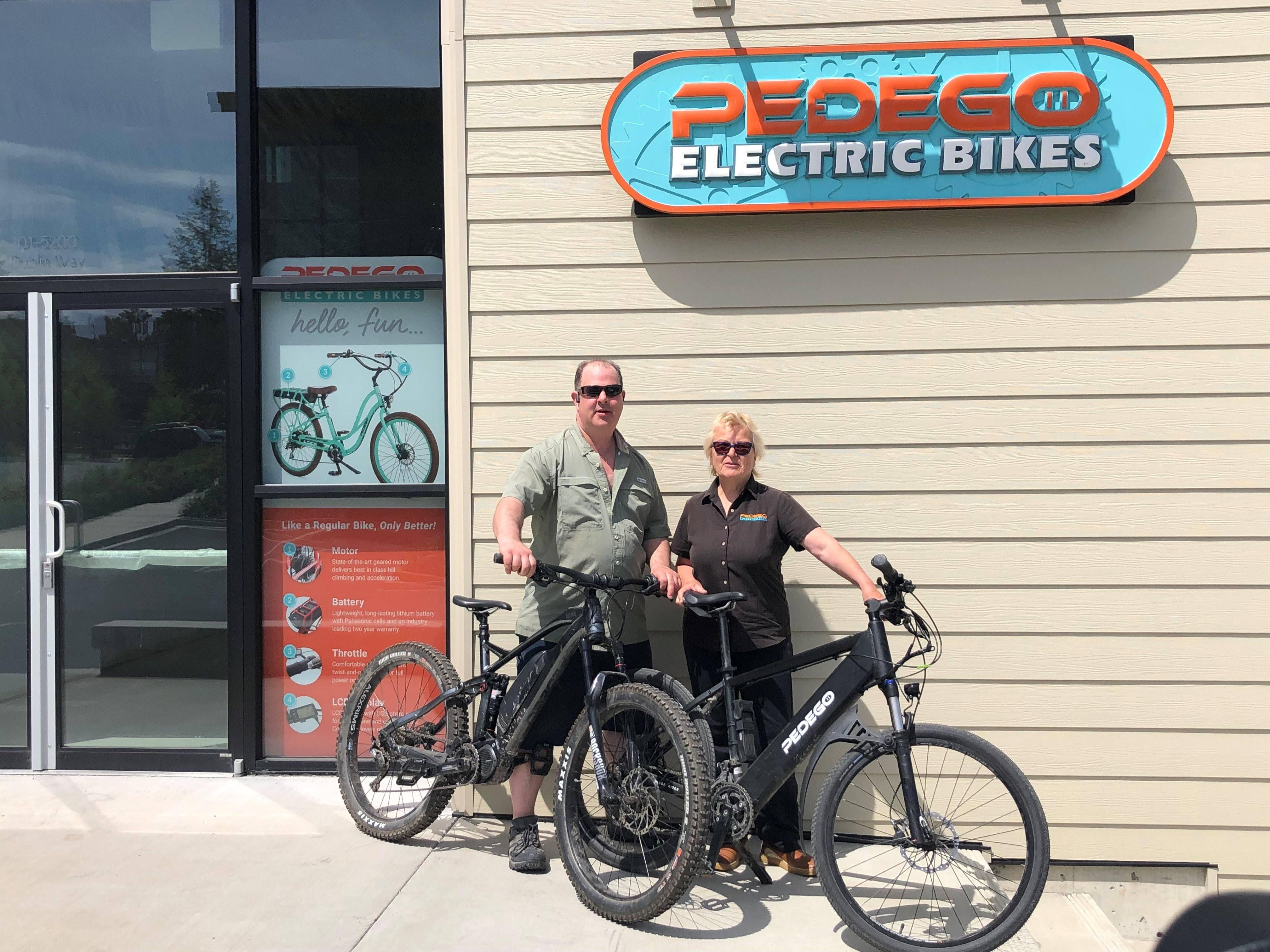 Pedego Electric Bikes Sales Service Rentals
