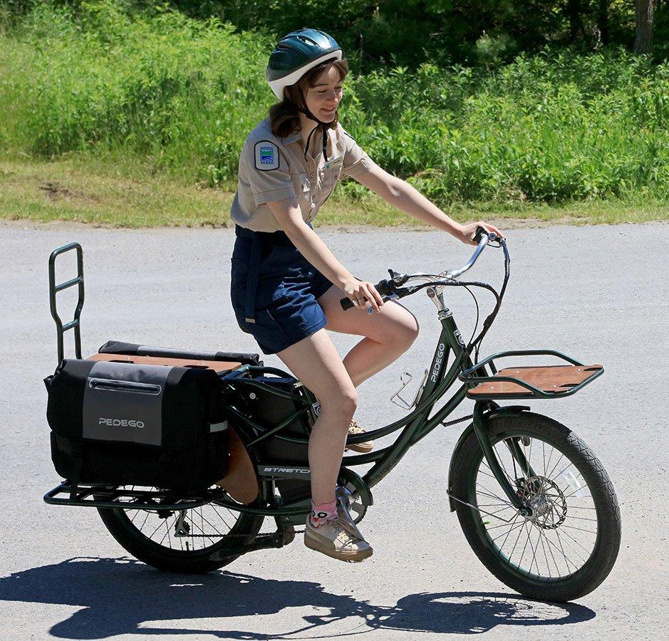Pedego Prince Edward County Donates Pedego Electric Bike to Sandbank Provincial Park