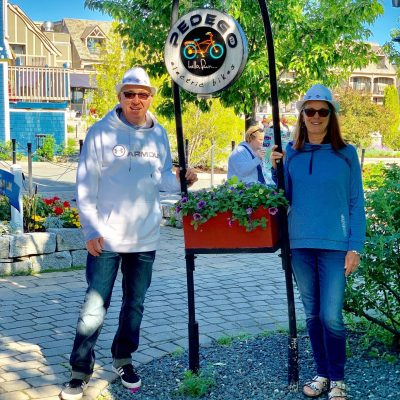 Jim Gilbert Opens Pedego Electric Bikes Fredericton
