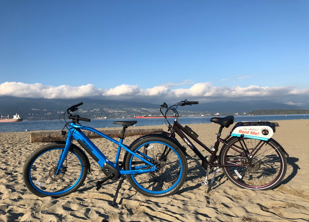 Pedego Electric Bikes in Vancouver, BC