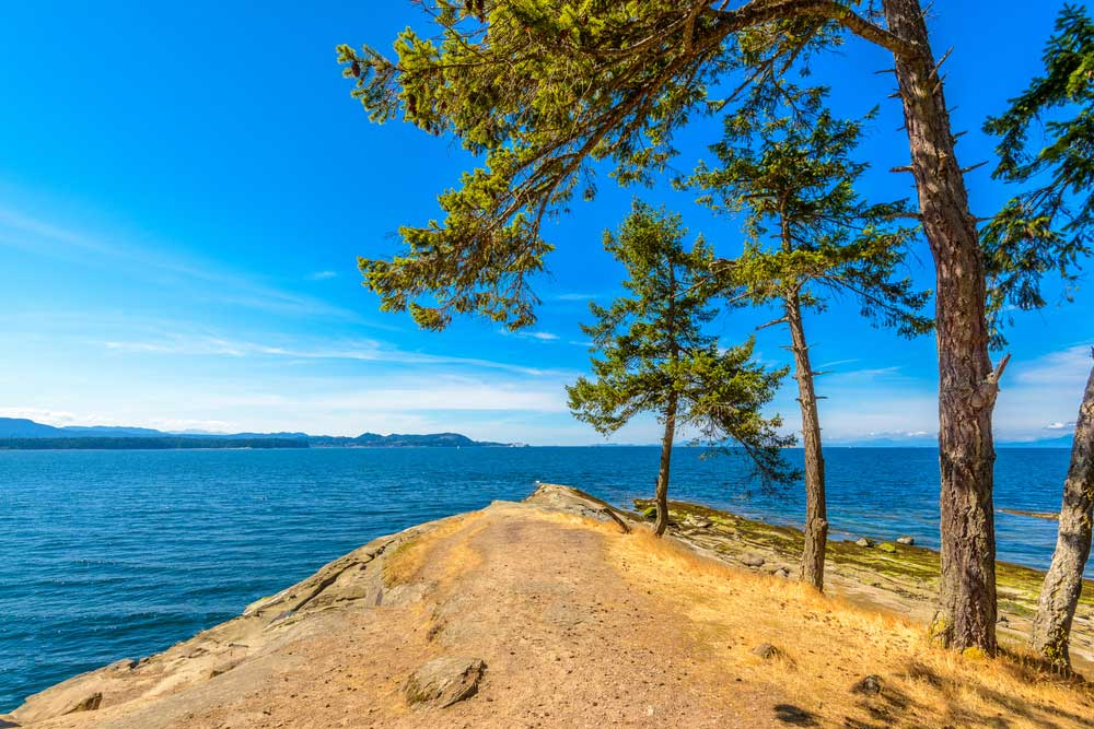 Electric Bike Riding on Saltspring and Gabriola Islands in British Columbia