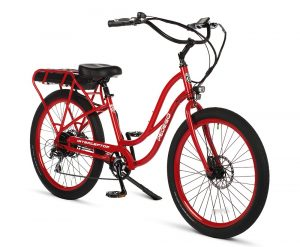 Pedego Interceptor Ruby Red